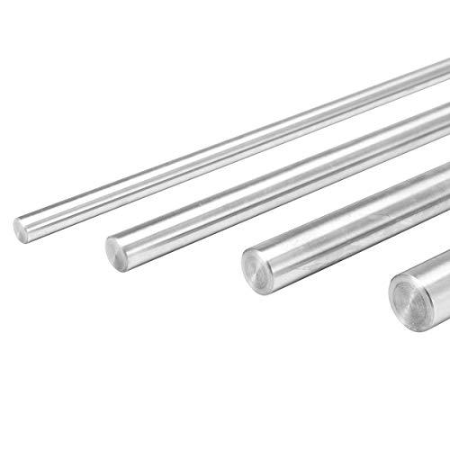 Pack de 10 varillas redondas acero inoxidable, 100 x 2 mm Sourcingmap  A13090200UX0053 Round Rod